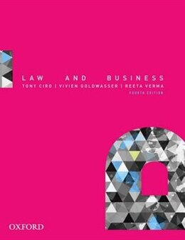 Book Law and Business by Tony Ciro