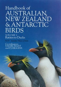 Book Handbook of Australian, New Zealand, and Antarctic Birds: Volume 1: Ratites to Ducks (2 book set… by S. Marchant