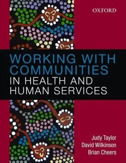 Book Working with Communities in Health and Human Services by Judy Taylor