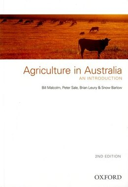 Book Agriculture in Australia: An Introduction by Bill Malcolm