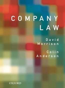 Book Company Law by David Morrison