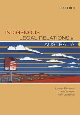 Book Indigenous Legal Relations in Australia by Larissa Behrendt