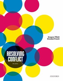 Book Resolving Conflict by Gregory Tillet