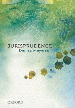 Book Jurisprudence by Denise Meyerson