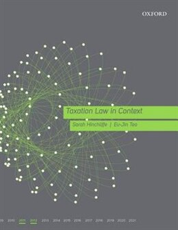 Book Taxation Law in Context 2011-12 by Sarah Hinchliffe