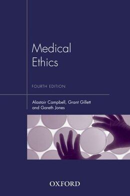Book Medical Ethics by Alastair Campbell