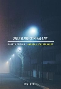 Book Queensland Criminal Law by Andreas Schloenhardt