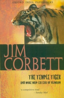 Book The Temple Tiger and More Man-Eaters of Kumaon by Jim Corbett