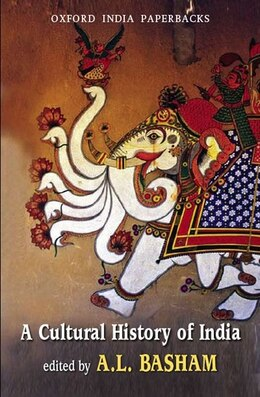 Book A Cultural History of India by A. L. Basham