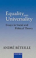 Equality and Universality: Essays in Social and Political Theory