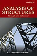 Book ANALYSIS OF STRUCTURES: Strength and Behaviour by T. S. Thandavamoorthy