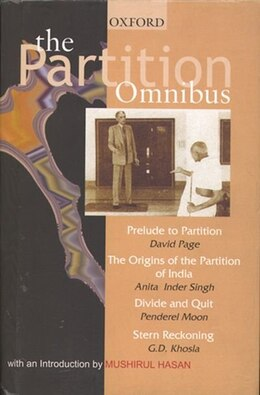 Book The Partition Omnibus by David Page