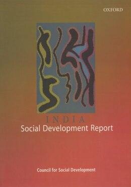 Book India: Social Development Report by Amitabh Kundu