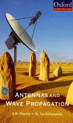 Book Antennas and Wave Propagation by A. R. Harish