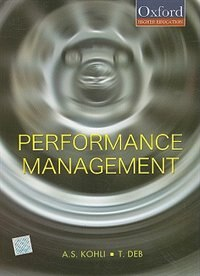 Book Performance Management by A. S. Kohli