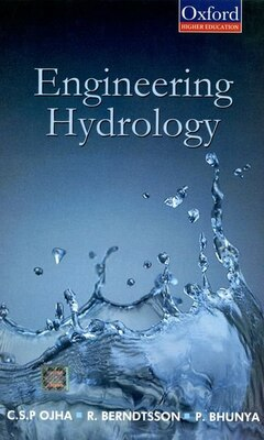 Book Engineering Hydrology by C.S.P. Ojha