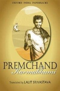 Book Karmabhumi by Premchand