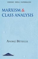 Book Marxism and Class Analysis by Andre Beteille