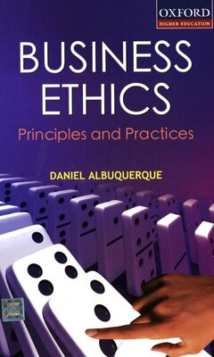 Book Business Ethics by D. Albuquerque