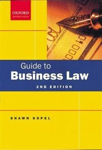 Book Guide to Business Law by Shawn Kopel