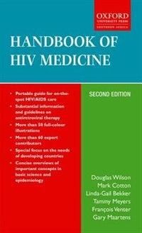 Book Handbook of HIV Medicine by Douglas Wilson