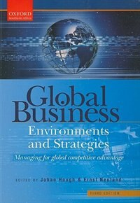 Book Global Business Environments and Strategies by Johan Hough