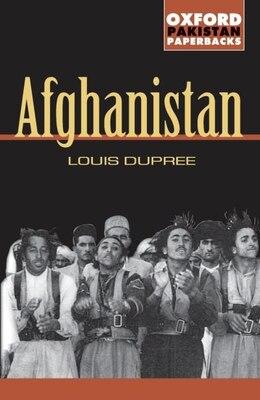 Book Afghanistan by Louis Dupree