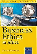 Book Business Ethics in Africa by Deon Roussouw