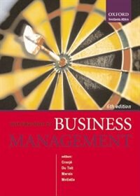 Book Introduction to Business Management by Gerhard Cronje