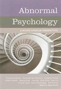 Book Abnormal Psychology: A South African Perspective by A. Burke