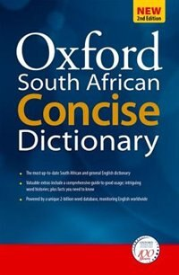 Book Oxford South African Concise Dictionary by Oxford