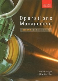 Book Operations Management by David Kruger