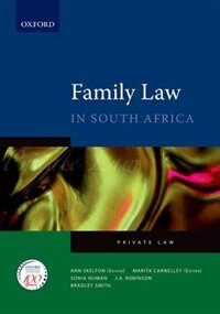 Book The Law of Family in South Africa by Ann Skelton