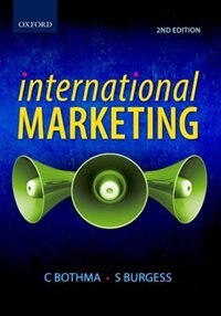 Book International Marketing by STEVEN BURGESS