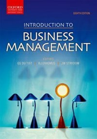 Book Introduction to Business Management by Gawie du Toit