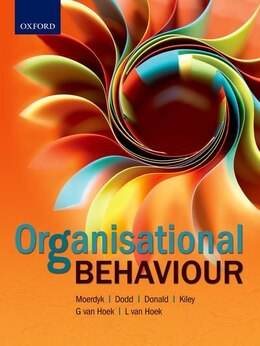 Book Organisational Behaviour by Jerome Kiley