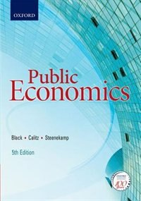 Book Public Economics by Philip Black