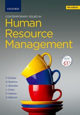 Book Contemporary Issues in Human Resource Management by Pieter Grobler