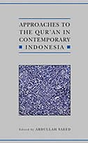 Book Approaches to the Quran in Contemporary Indonesia by Abdullah Saeed
