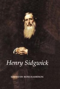 Book Henry Sidgwick by Ross Harrison