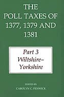 Book The Poll Taxes of 1377, 1379, and 1381: Part 3 Wiltshire - Yorkshire by Carolyn C. Fenwick