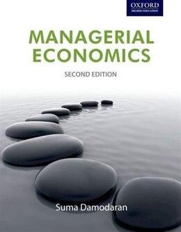 Book Managerial Economics by Suma Damodaran