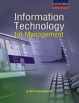Book Information Technology for Management by B. Muthukumaran