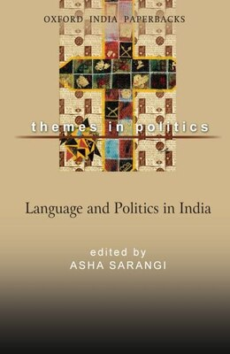 Book Language and Politics in India by Asha Sarangi