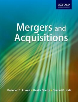 Book Mergers and Acquisitions by Rajinder Aurora