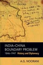 India-China Boundary Problem, 1846-1947
