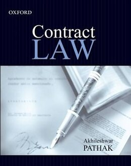 Book Contract Law by Akhileshwar Pathak