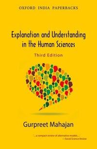 Explanation and Understanding in the Human Sciences