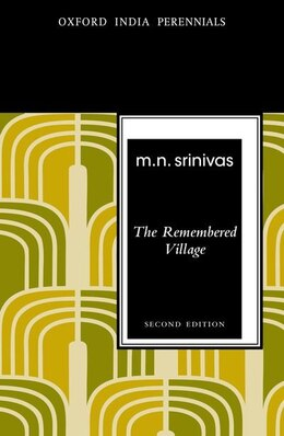 Book The Remembered Village by M.N. Srinivas