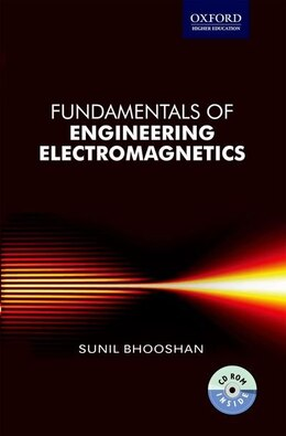 Book Fundamentals of Engineering Electromagnetics by Sunil Bhooshan